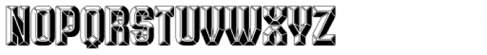 Krown Iron Font UPPERCASE