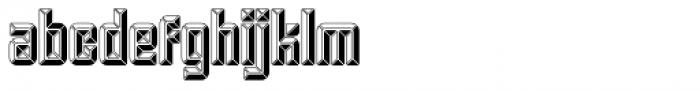 Krown Iron Font LOWERCASE