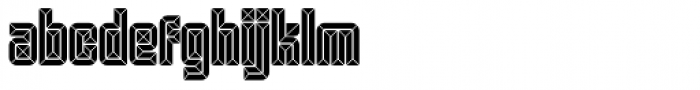 Krown Straw Font LOWERCASE