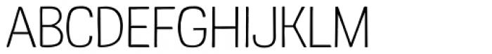 Kruda Thin Font UPPERCASE