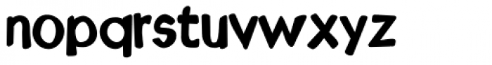 Kruede Regular Font LOWERCASE