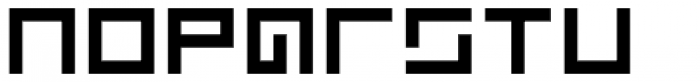 Kryptic Font LOWERCASE