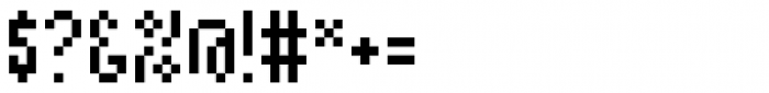 Kryptk Flash101 POS Font OTHER CHARS