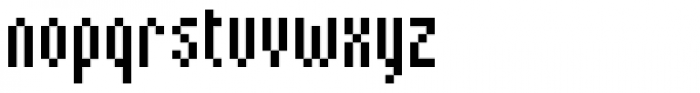 Kryptk Flash101 POS Font LOWERCASE