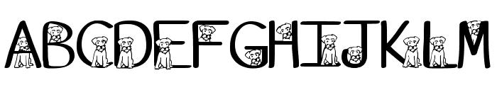 Ks Schnauzer Hide N See Regular Font UPPERCASE