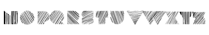 kstexture Font UPPERCASE