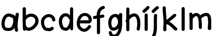 KtnFingerwriting Font LOWERCASE