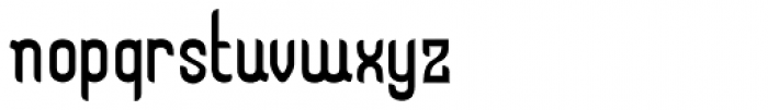 Kticha Light Font LOWERCASE
