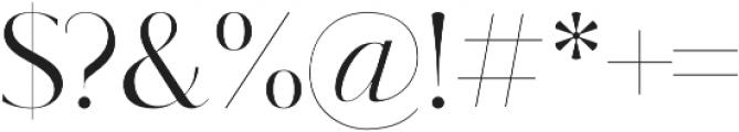 Kudryashev Display Sans otf (400) Font OTHER CHARS