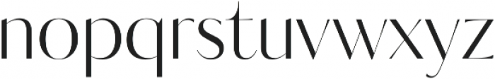 Kudryashev Display Sans otf (400) Font LOWERCASE