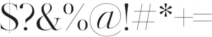 Kudryashev Display otf (400) Font OTHER CHARS