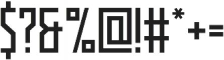 Kufica Regular otf (400) Font OTHER CHARS