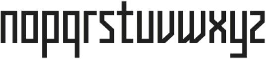Kufica Regular otf (400) Font LOWERCASE