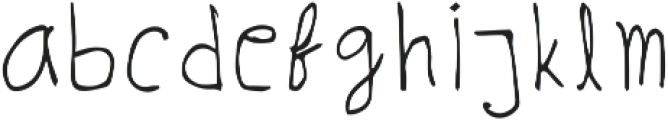 Kumarhandy Regular ttf (400) Font LOWERCASE