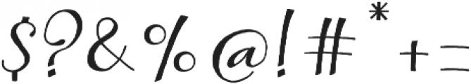Kumma Regular otf (400) Font OTHER CHARS