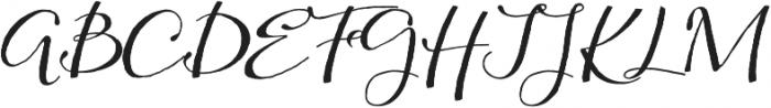 Kumma Regular otf (400) Font UPPERCASE