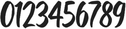 Kurashiki Brush otf (400) Font OTHER CHARS
