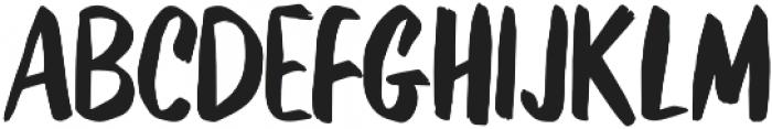 Kurashiki Brush otf (400) Font LOWERCASE