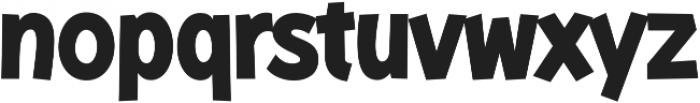 KurriIsland-Bold otf (700) Font LOWERCASE