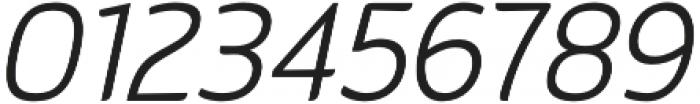 Kurstiva Light Italic otf (300) Font OTHER CHARS