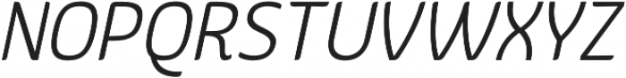 Kurstiva Light Italic otf (300) Font UPPERCASE