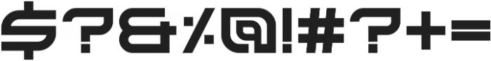 Kusanagi otf (400) Font OTHER CHARS