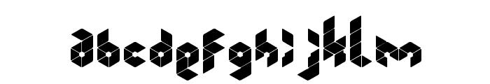 Kubrubi Font LOWERCASE