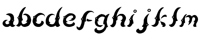 Kudihyang Regular Font LOWERCASE
