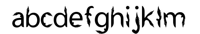 Kujang Ciung Basyri Font LOWERCASE