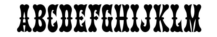 Kumparsita Font UPPERCASE