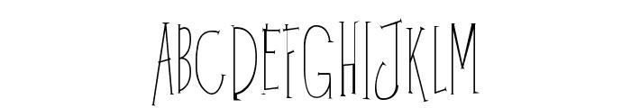 Kunang Kunang Font UPPERCASE