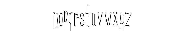 Kunang Kunang Font LOWERCASE