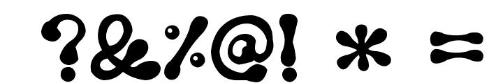 Kunyulla Black Font OTHER CHARS