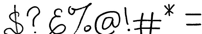 Kupu-kupuabu Font OTHER CHARS