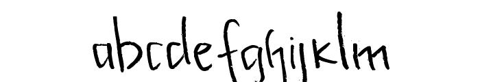 Kupu-kupuabu Font LOWERCASE