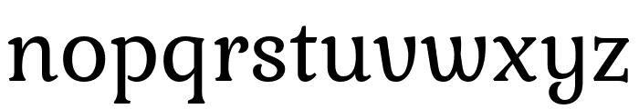 Kurale Regular Font LOWERCASE