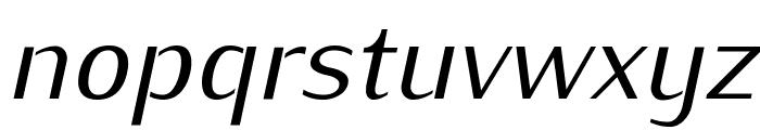 Kurier-Italic Font LOWERCASE
