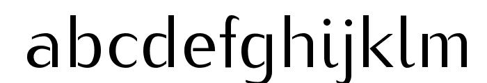 Kurier-Regular Font LOWERCASE
