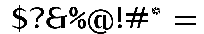 KurierCond-Bold Font OTHER CHARS