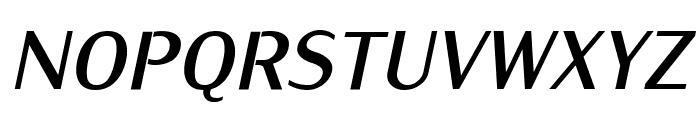 KurierCond-BoldItalic Font UPPERCASE