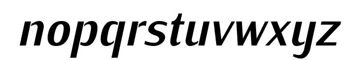 KurierCond-BoldItalic Font LOWERCASE