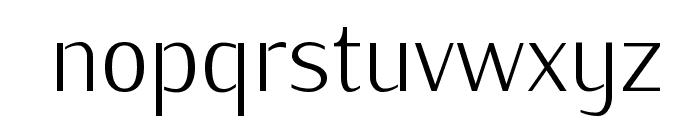 KurierCondLight-Regular Font LOWERCASE