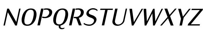 KurierCondMedium-Italic Font UPPERCASE