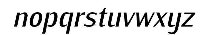 KurierCondMedium-Italic Font LOWERCASE