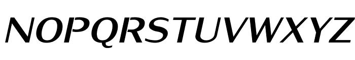 KurierHeavy-Italic Font UPPERCASE