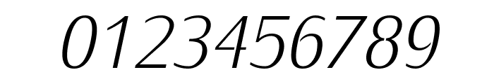 KurierLight-Italic Font OTHER CHARS