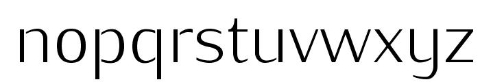 KurierLight-Regular Font LOWERCASE