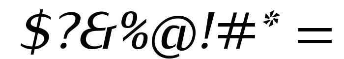 KurierMedium-Italic Font OTHER CHARS