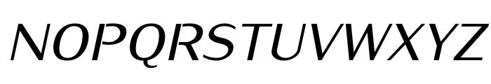 KurierMedium-Italic Font UPPERCASE