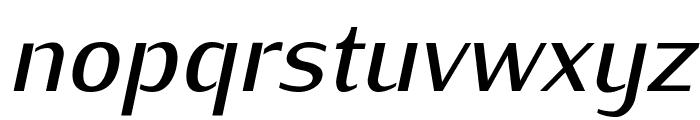 KurierMedium-Italic Font LOWERCASE